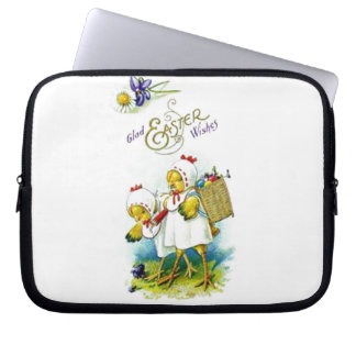 Glad Easter Wishes Computer Sleeve
