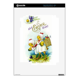 Glad Easter Wishes Decals For The iPad 2