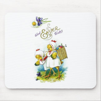 Glad Easter Wishes Mouse Pad
