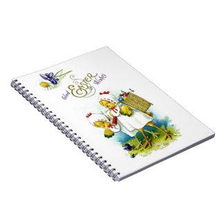 Glad Easter Wishes Notebook
