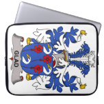 Glad Family Crest Laptop Computer Sleeve