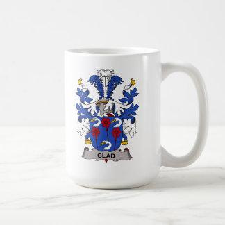Glad Family Crest Classic White Coffee Mug