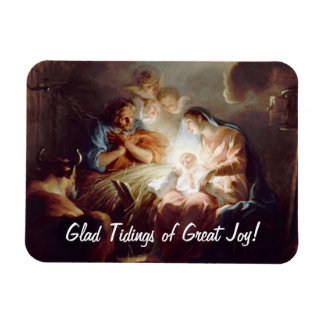Glad Tidings of Great Joy Custom Photo Magnet