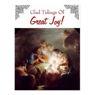 Glad Tidings of Great Joy Custom Postcard