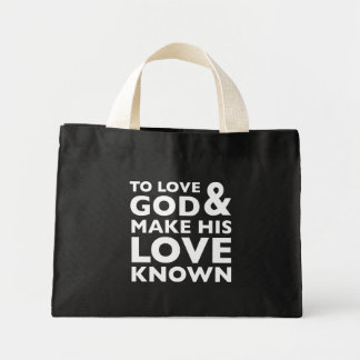 Glad Tidings Tiny Tote