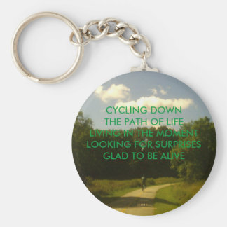 GLAD TO BE ALIVE KEYCHAIN