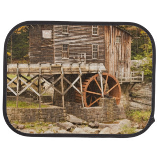 Glade Creek Grist Mill, Babcock State Park, 2 Car Floor Mat