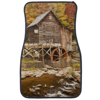 Glade Creek Grist Mill, Babcock State Park, 2 Car Mat