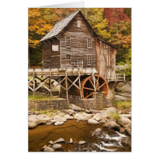 Glade Creek Grist Mill, Babcock State Park, 2 Card