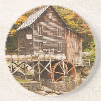 Glade Creek Grist Mill, Babcock State Park, 2 Drink Coaster
