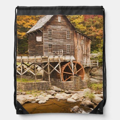 Glade Creek Grist Mill, Babcock State Park, 2 Cinch Bag