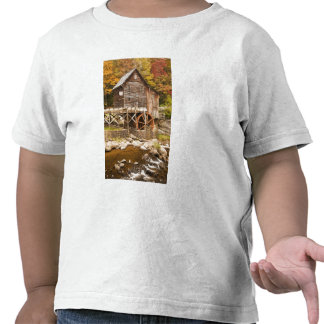 Glade Creek Grist Mill, Babcock State Park, 2 T-shirts