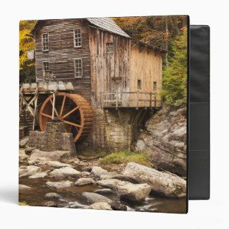 Glade Creek Grist Mill, Babcock State Park, Vinyl Binders