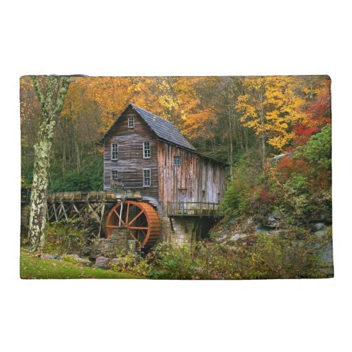 Glade Creek Grist Mill Travel Accessory Bag