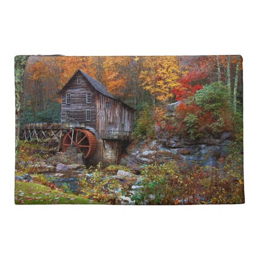 Glade Creek Grist Mill Travel Accessories Bag