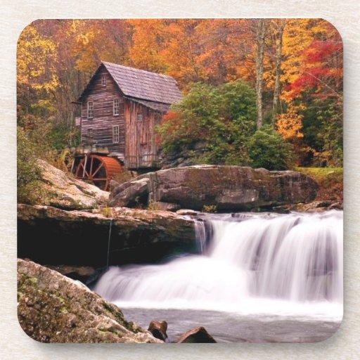 Glade Creek Grist Mill Drink Coaster