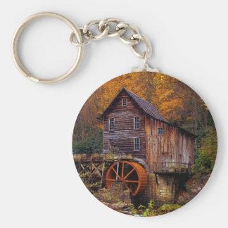 Glade Creek Grist Mill Keychain