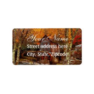 Glade Creek Grist Mill Label