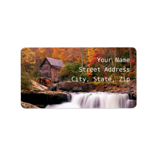 Glade Creek Grist Mill Label