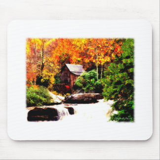 Glade Creek Grist Mill Mousepad