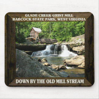 GLADE CREEK GRIST MILL-MOUSEPAD MOUSE PAD