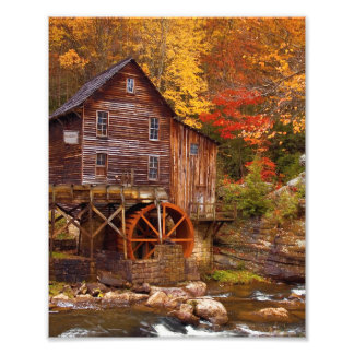 Glade Creek Grist Mill Photo