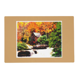 Glade Creek Grist Mill Placemat
