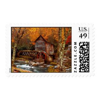 Glade Creek Grist Mill Postage