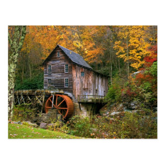Glade Creek Grist Mill Post Cards
