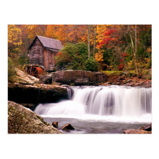 Glade Creek Grist Mill Postcards