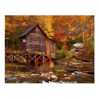 Glade Creek Grist Mill Postcard