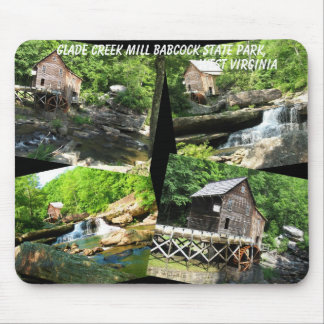 GLADE CREEK MILL AT BABCOCK STATE PARK WEST VA.- MOUSE PAD
