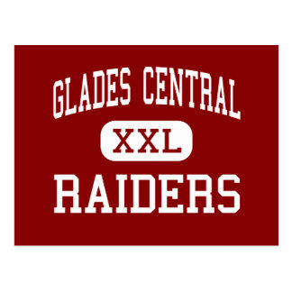 Glades Central - Raiders - Community - Belle Glade Postcard