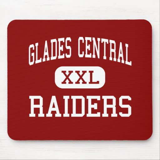 Glades Central - Raiders - High - Belle Glade Mouse Pad
