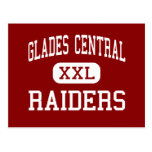 Glades Central - Raiders - High - Belle Glade Post Cards