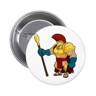 Gladiador espartano o Trojan Pin