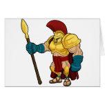 Gladiador espartano o Trojan Tarjeta