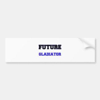 Gladiador futuro pegatina de parachoque