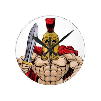 Gladiador Reloj Redondo Mediano
