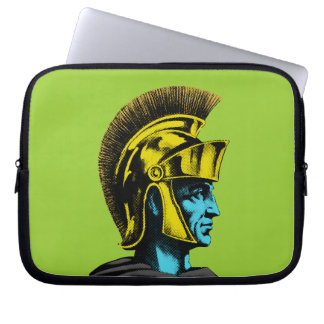 Gladiador romano gráfico funda computadora