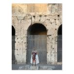 Gladiador romano tarjetas postales