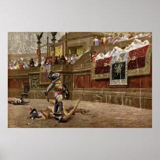Gladiadores romanos antiguos poster