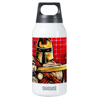 Gladiator 10 Oz Insulated SIGG Thermos Water Bottle