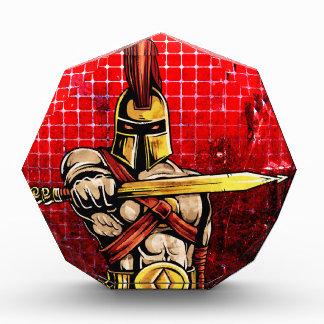 Gladiator Acrylic Award