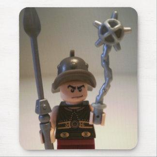Gladiator 'Cracalla the Gladiator' Custom Minifig Mouse Pad