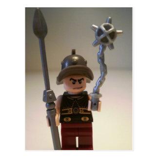 Gladiator 'Cracalla the Gladiator' Custom Minifig Postcard