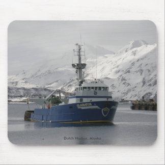 Gladiator, Fishing Trawler in Dutch Harbor, AK Mousepads