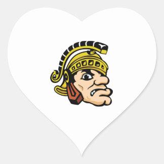 Gladiator Heart Sticker