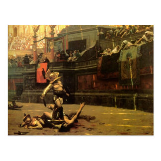 Gladiator Postcard