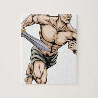Gladiator warrior jigsaw puzzles